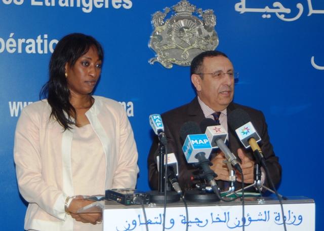 Entretiens avec la Ministre Déléguée Chargée des Sénégalais de l\'Extérieur