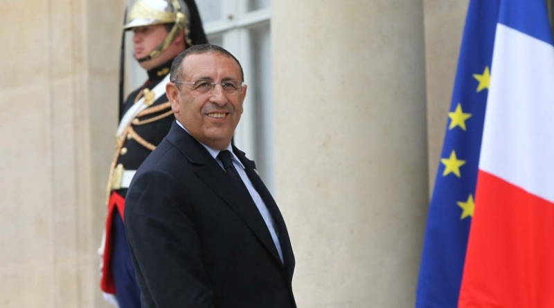M. Youssef Amrani, Secretary General of the Union for the Mediterranean, at his arrival to the Conference