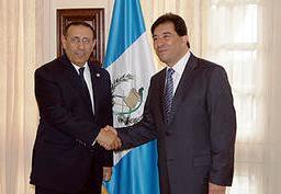M. Amrani transmet au Président élu du Guatemala les félicitations de Sa Majesté le Roi