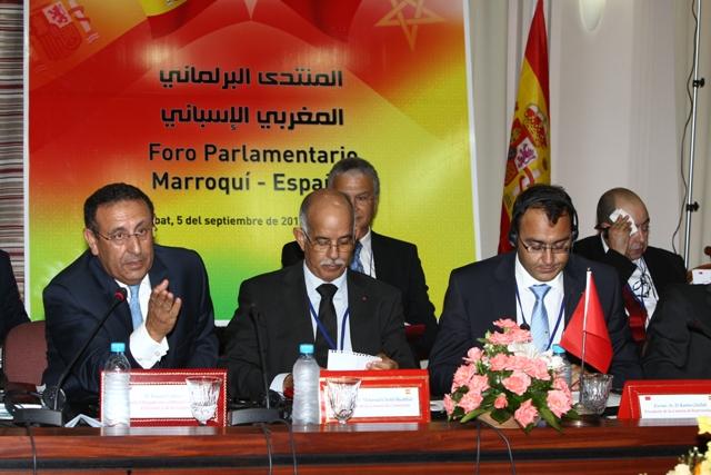 M. Amrani prend part au Forum parlementaire maroco-espagnol