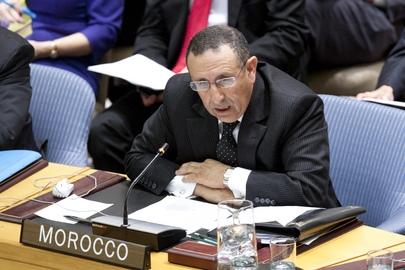 Intervention de M.Amrani devant le Conseil de Sécurité à l\'ONU.