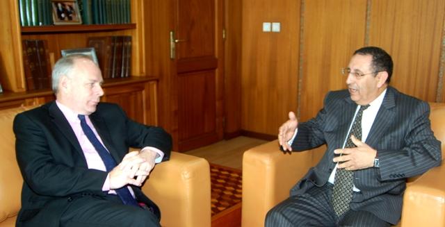 Visite du Président du groupe d'amitié parlementaire Maroc- Royaume-Uni,M. Ian Liddell-Grainger.