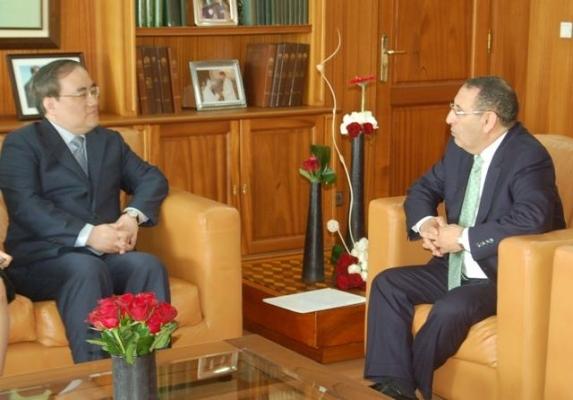 Entretiens de M. le Ministre Délégué avec le Vice-Ministre sud-coréen des Affaires étrangères, M.Kim Sung Hun.