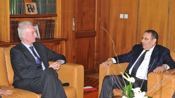 Visite du Coordinateur de l'UE pour la Lutte contre le Terrorisme,M. Gilles de Kerchove.
