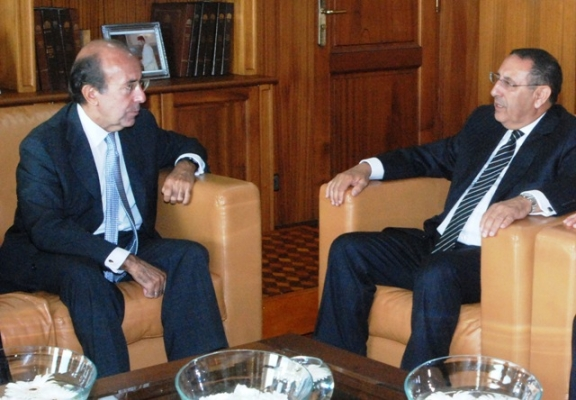 Entretien avec le Secrétaire d'Etat espagnol aux Affaires étrangères, M. Gonzalo de Benito.