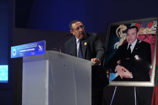 M.Youssef Amrani à MEDays, Tanger.