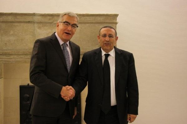 Entrevue avec le Président de la Chambre des Députés du Luxembourg,Laurent Mosar.