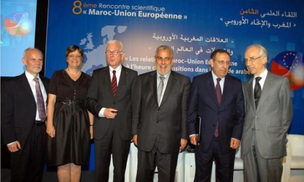 Intervention de M. Amrani lors de la 8ème Rencontre scientifique sur les relations entre le Maroc et l\'UE