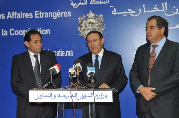 Entretien de M.Amrani avec Emilio Rached et Julio Martinez, membres respectivement du Sénat  et de la Chambre des représentants argentins.