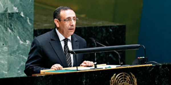 Participation de M. Amrani au débat de haut niveau de l\'Assemblée générale de l\'ONU sur