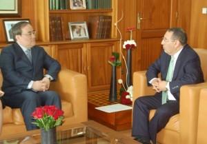 Entretiens de M. le Ministre Délégué avec le Vice-Ministre sud-coréen des Affaires étrangères